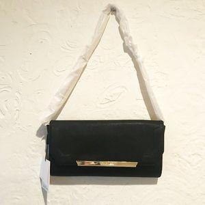 NWT Calvin Klein Leather Clutch Bag